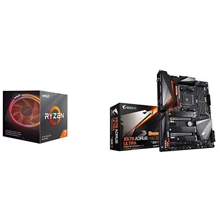 Amazon Com Amd Ryzen 7 3800x 8 Core 16 Thread Unlocked Desktop Processor With Wraith Prism Led Cooler With X570 Aorus Ultra Gaming Motherboard Computers Accessories