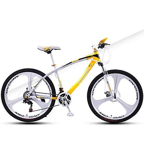 TYPO Bicicleta para niños, Bicicleta de montaña, Velocidad de Freno de Disco Dual Bicicleta para niños y niñas, Bicicleta de 24 Pulgadas Ciclismo para jóvenes Adultos Hombres y Mujeres Velocidad