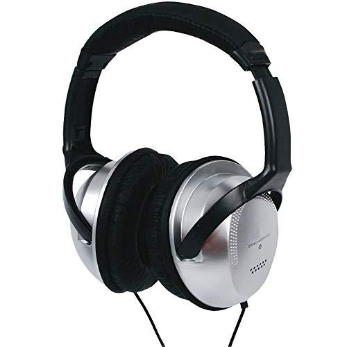 TronicXL Tv-koptelefoon hoofdband 6 m lange kabel TV klink TV koptelefoon compatibel met vele modellen van Sony LG Panasonic Grundig Samsung Philips Toshiba Hisense Medion beugel Stereo