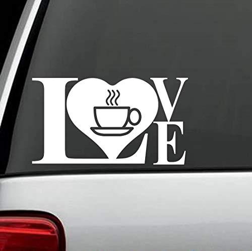 Calcomanía de vinilo extraíble para taza de café, diseño de beans, bistro, cocina, Java, casa, 15,24 cm