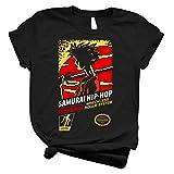 Samoura Hip-Hop 72 - T-Shirt for Boys Women Vintage Classic Tee Trending Unisex Shirt for Men Girls Handmade