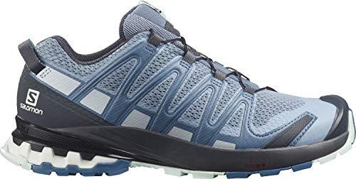 Salomon Damen Xa Pro 3d V8 Trail Running Shoe, Hellblau Ashley Blue Ebony Opal Blue, 39.5 EU
