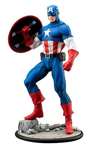 ARTFX MARVEL UNIVERSE Captain America 1/6 scale PVC painted pre-assembled figure image