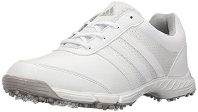 adidas Women's Tech Response Golf Shoe, White, 9 M US
