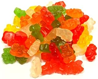 Albanese Confectionery 50100-CASE 6 Flavor Assorted Wild Fruit Gummi Bears - 20 lb Case
