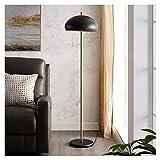 Home. Lámpara de pie moderna vertical lámpara de mesa para sala de estar, dormitorio, iluminación de lectura, lámpara de noche, lámpara de piano, color blanco y negro [clase energética A +] (color: A)