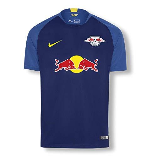 RB Leipzig Away Trikot 18/19, Blau Herren Medium T Shirt, RasenBallsport Leipzig Sponsored by Red Bull Original Bekleidung & Merchandise