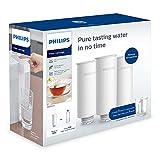 Philips - AWP225 - Filtro de Agua Micro X-Instant, Cartuchos para filtración de agua Instanteno, Agua más pura y de Excelente Sabor, Pack 3 unidades
