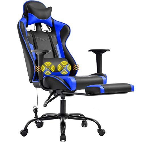 Gaming Chair Racing Office Chair Ergonomic...