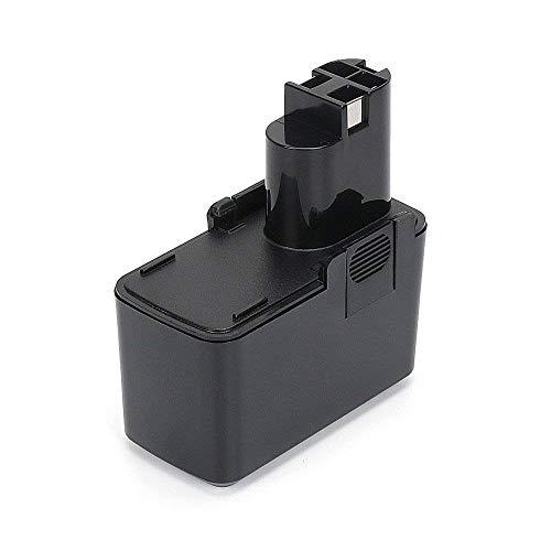 REEXBON 9.6V 2.0Ah NI-MH Batteria di Ricambio per Bosch PSR 9.6 VES-2 PSR 9.6 VE PSB 9.6VES-2 GSR 9.6VES-2 GSB 9.6 VES-2 2607335037 2607335072 2607335035 BAT001