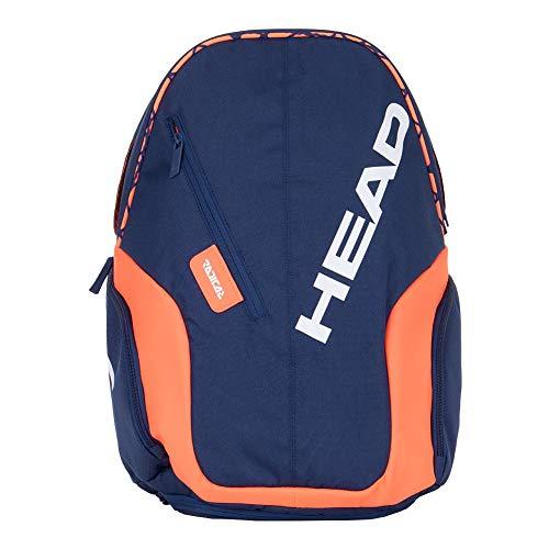 HEAD Rebel Backpack Klassische Sporttaschen, dunkelblau, 1-3 Tennisschläger