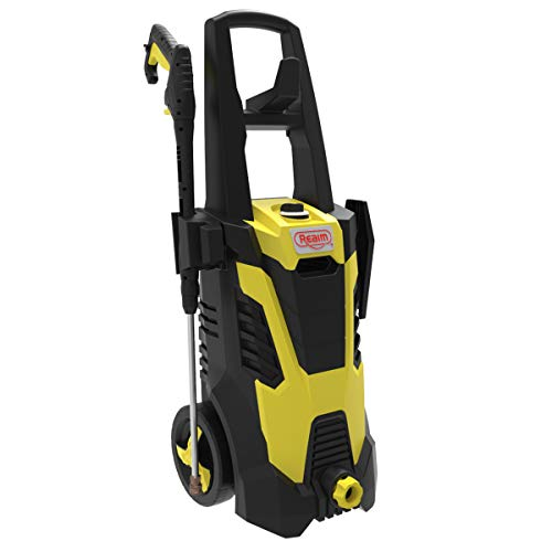 Buy Realm BCM Electric Pressure Washer, 2300 PSI, 1.75GPM, 14.5 Amp with Spray Gun,5 Nozzles, Built ...