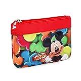 Mickey Mouse Delicious Portamonete, 14 cm, Rosso (Rojo)