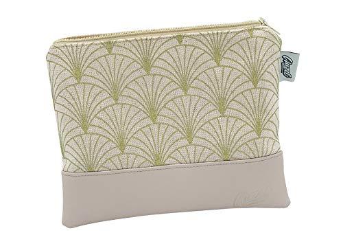 Weezel original Cozy Bag | Inklusive 2X vegane Longpaper + 1x Exklusives Clipper Feuerzeug | Kiffertasche Handmade in Germany | Das Kiffer Zubehör für den Genuss auf der Couch (Humble Blush)
