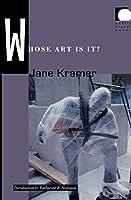 Whose Art Is It? (Public Planet Books)