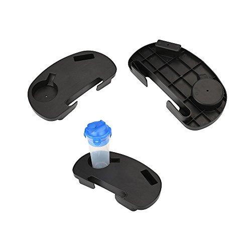 Sedeta Clip-On Relaxer Beach Chair Beistelltisch Autositz Utility-Tray Cup MP3 Getränkehalter Lager-Werkzeug Utility Tray Tray-Verbesserte Version Becherhalter Plastik