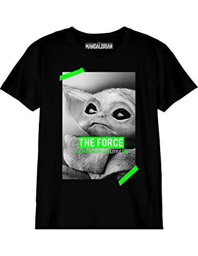 cotton division Boswmants001 T-Shirt, Noir, 10 Anni Bambino