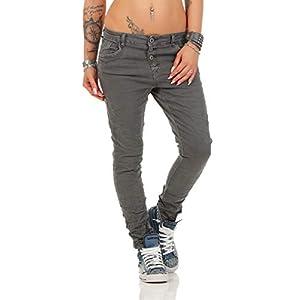 10118 fashion4young Knackige Damen Jeans