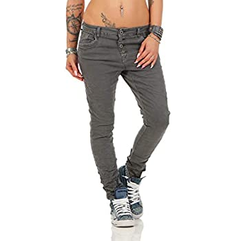 10118 fashion4young Knackige Damen Jeans