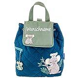 Rucksack Kindergartentasche mit Namen Bedruckt Motiv Koala