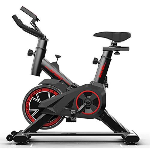 Read About Exercise Cycling Bike,Adjustable Professional with LCD Display Indoor Fitness Bike for Ho...