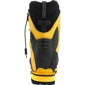 La Sportiva Spantik Men's Mountain Climbing Mountaineering Boot, Yellow/Silver, 43.5 M EU