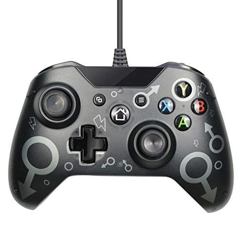 Xin Hai Yuan Controlador con Cable USB para Videojuego Xbox One Joystick...
