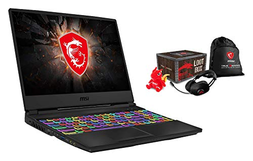 MSI GL65 10SFSK-462 Leopard (39,6 cm/15,6 Zoll/144Hz) Gaming-Laptop (Intel Core i7-10750H, 16 GB RAM, 1 TB PCIe SSD, Nvidia GeForce RTX 2070 SUPER 8 GB) + Loot Box Pack