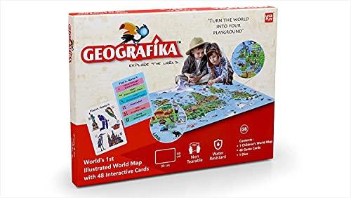 GEOGRAFIKA Unik Play – Ge Dografika Illustrated Map Card Game