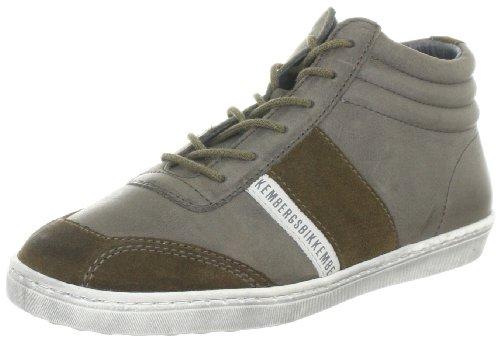 BIKKEMBERGS Wembley 62B Suede/Leather MUD/MUD BKJ101980, Jungen Sneaker, Grau (Mud), EU 32