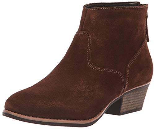 Skechers Damen LASSO - CARAVEL - Short Zip-On Ankle Boot Stiefelette, schokoladenbraun, 36 EU