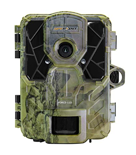 SPYPOINT FORCE-11D Ultra Compact Trail Camera 11MP HD Video w/ High Power LEDs, Blur Reduction &...