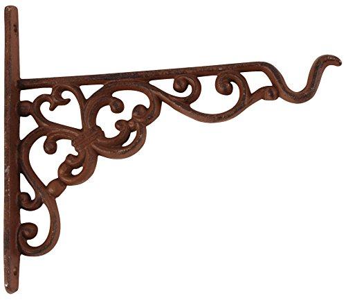 Esschert Design, BPH28, Gancio per Cesto pensile, S, 20, 8 x 2,4 x 18,5 cm