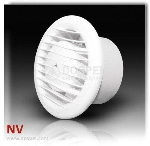 Blanco 4 '/ 100mm 230v pared / techo ventilador extractor de ventilación del baño