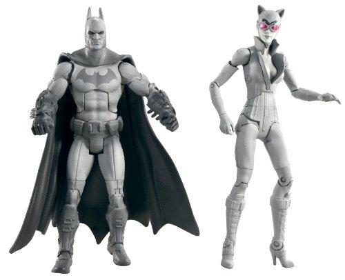 Mattel Batman Arkham City Legacy Edition W7104 - Figuras de Batman y Catwoman