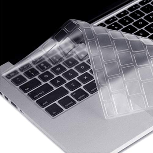 CAISON Premium Ultra Thin TPU Keyboard Protector Cover for 2019 Release New 16 inch MacBook Pro Apple Model Number A2141, UK/EU Layout