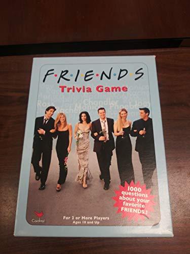 Formato de Viaje 0294 Juego de Preguntas y respuestas Winning Moves- Trivial Pursuit Friends Versi/ón Francesa