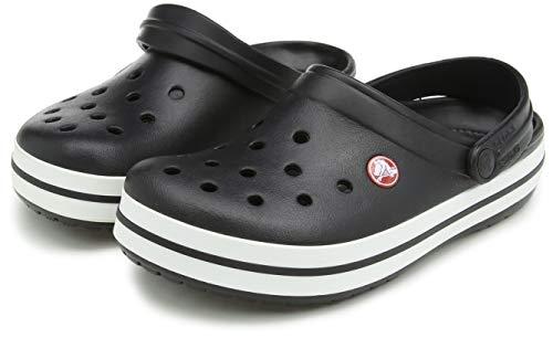 Crocs Crocband U, Zuecos Unisex Adulto, Negro (Black), 39-40 EU