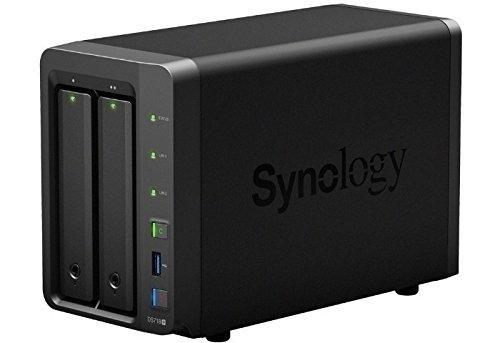 DS718plus, netwerkverbonden opslagruimte, 2-bay, hotswap, zonder HDD, 2x GB LAN, USB 3.0, eSATA