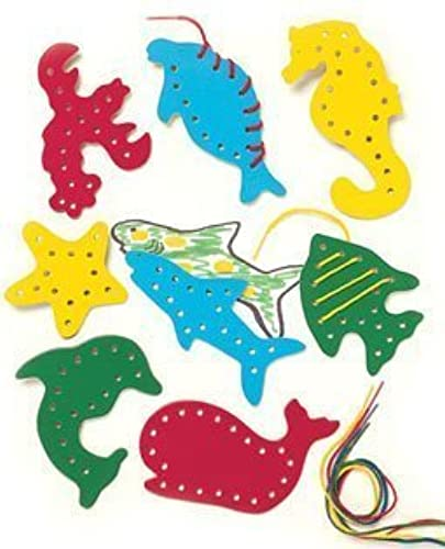 calidad fantástica Lacing and Tracing Tracing Tracing Sea Life 8 Pk Ages 3-7 by Patch Products Lauri, Inc.  calidad auténtica