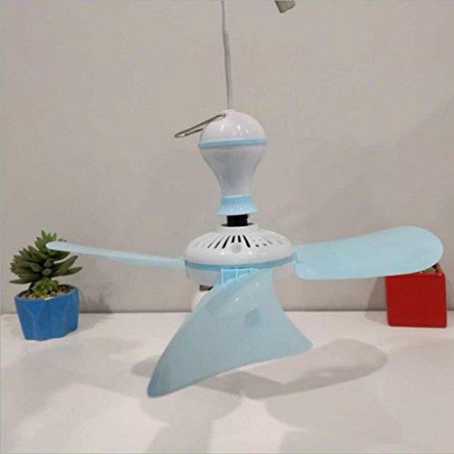 Miaoge Clover kleiner Deckenventilator Mini Micro Fan Student Wohnheim Netze Energie Deckenventilator