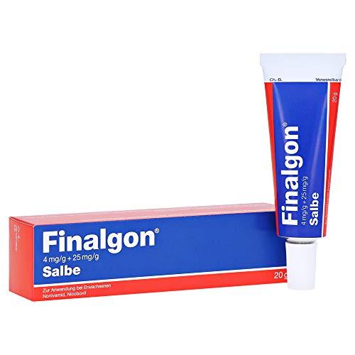 FINALGON 4 mg/g + 25 mg/g Salbe 20 g Salbe