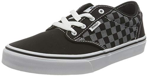 Vans Atwood Canvas, Zapatillas Unisex Niños, Checker Dot Black/White, 39 1/3 EU
