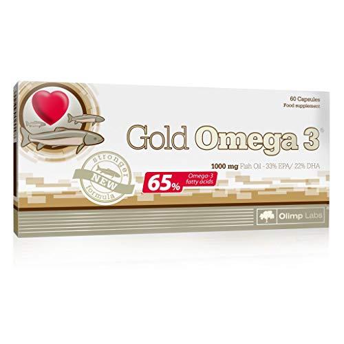 3 x Olimp Gold Omega 3, 60 Kapseln (3er Pack)