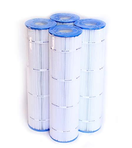 Pool Filter 4-Pack, Replaces Jandy CL460 R0554600, Unicel C-7468, Filbur FC-0810, & Pleatco PJAN115 Filter Cartridges