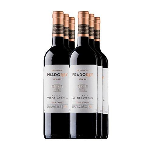 PRADOREY Valdelayegua-Rotwein-Spanischer Wein-Ribera Duero-Crianza-6 Flaschen 0,75 L