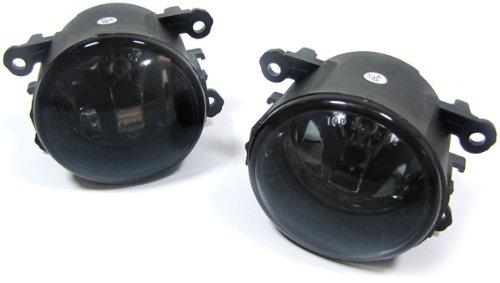 Carparts-Online 15846_8 Klarglas Nebelscheinwerfer schwarz smoke