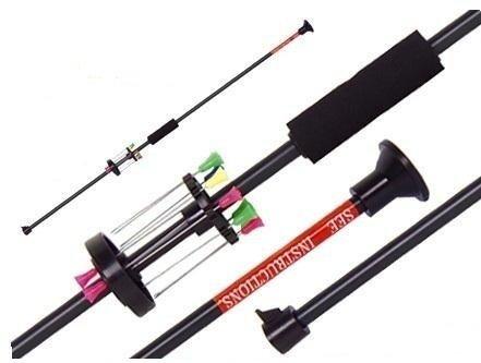 G8DS® Sport ALU Präzisions Blasrohr +12 Dart Pfeile 75cm