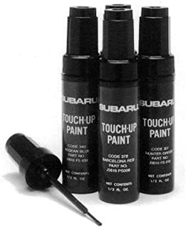 Genuine Subaru J361SAG030 Touch-Up Paint, Obsidian Black Pearl (BLK), Paint code 32j