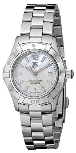 TAG Heuer Women's WAF1414.BA0823 'Aquaracer' Stainless Steel Dress Watch